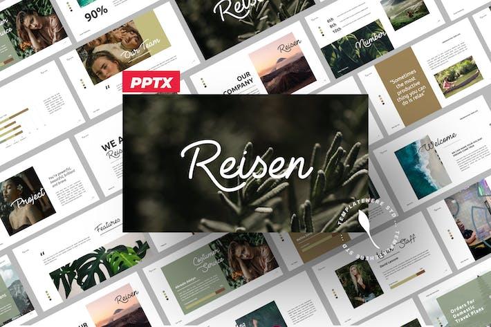 Thumbnail for Reisen Brand Travel Business Presentation