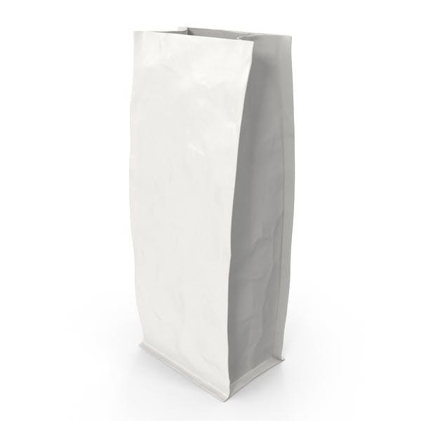 Thumbnail for Flat Bottom Pouche 500g Open White