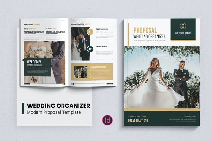 Thumbnail for Weeding Organizer – Proposal Template