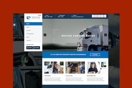TransGo - Transport & Logistics Joomla Template