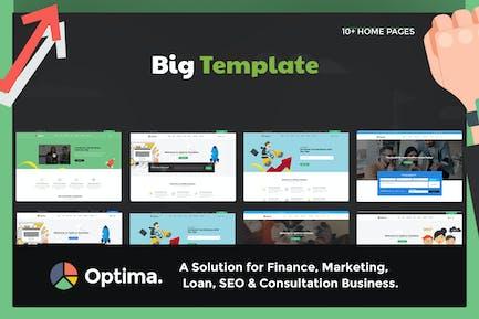 Optima - Multiple solutions for Finance, Marketing