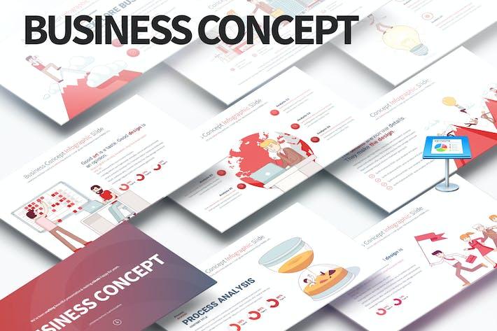 Thumbnail for Business Concept - Keynote Infografiken Folien