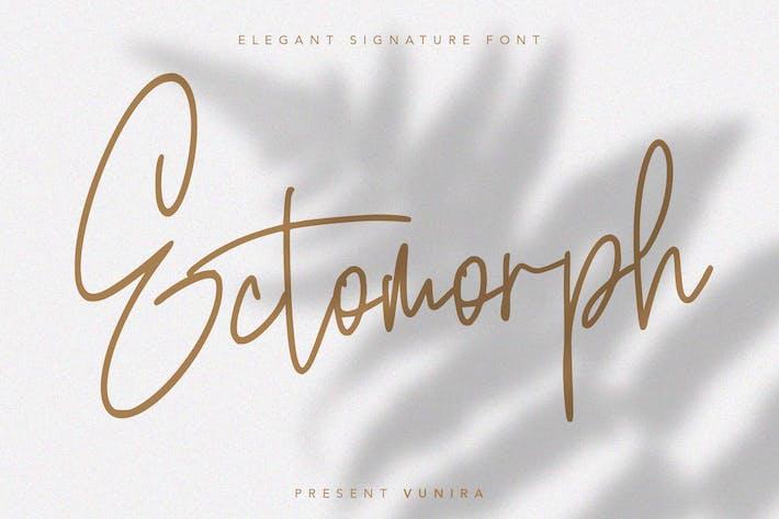Thumbnail for Ectomorph | Elegant Signature Font