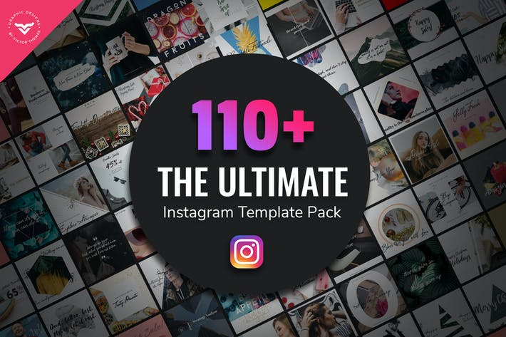 Thumbnail for Ultimate Instagram Post Templates