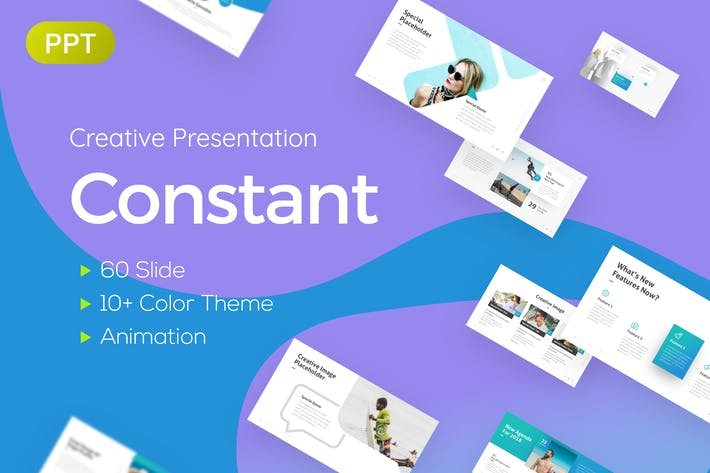 Thumbnail for Constant Creative Presentation Template