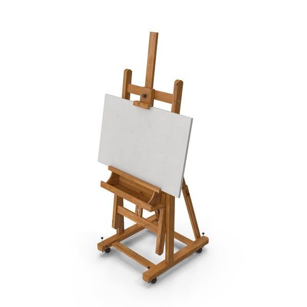 Caballete de artista