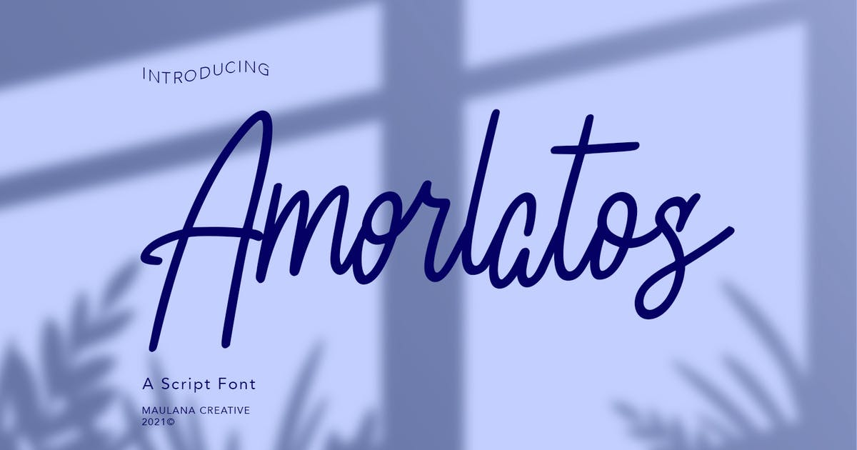 Download Amorlatos Script Font by maulanacreative