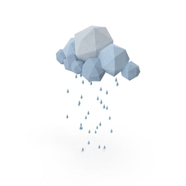 Cover Image for Low Poly Storm Cloud