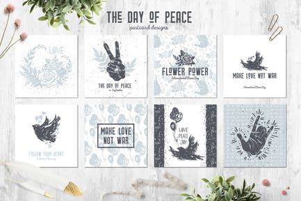 The Day of Peace // Cards