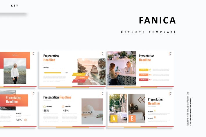 Cover Image For Fanica - Keynote Template