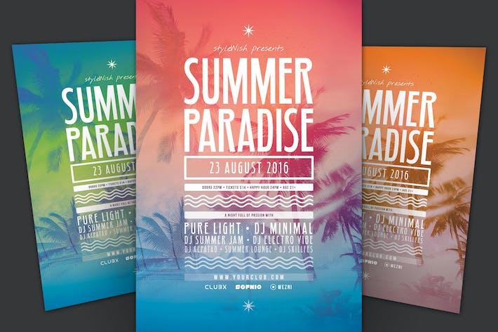Thumbnail for Summer Paradise Flyer