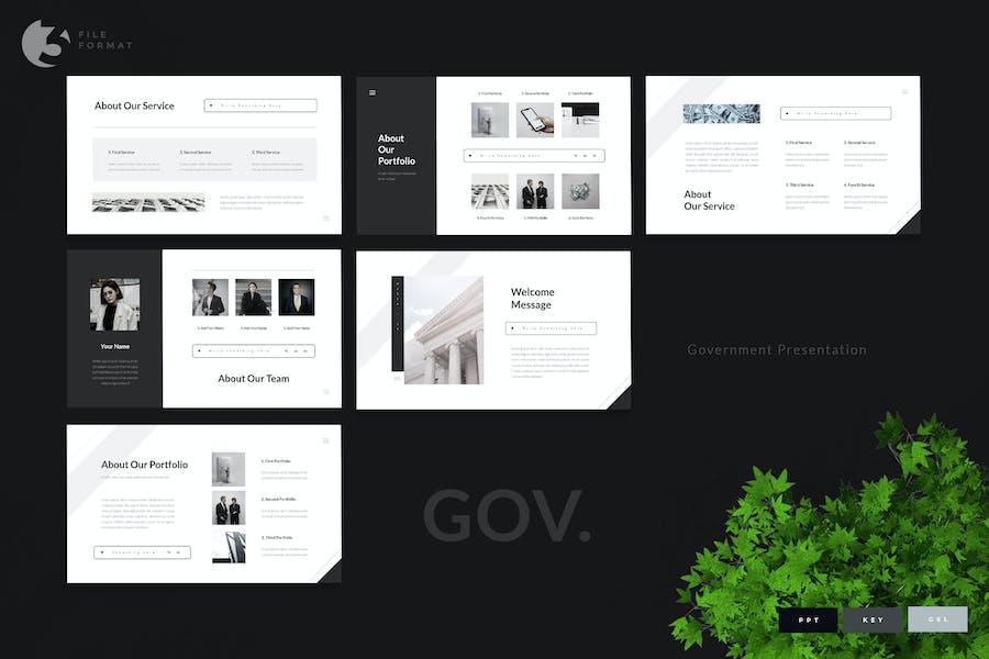 Gov - Government Presentation Template