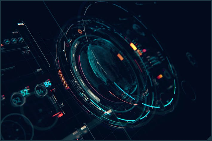 Thumbnail for HUD Futuristic Interface XT1: Sci Fi UI Elements