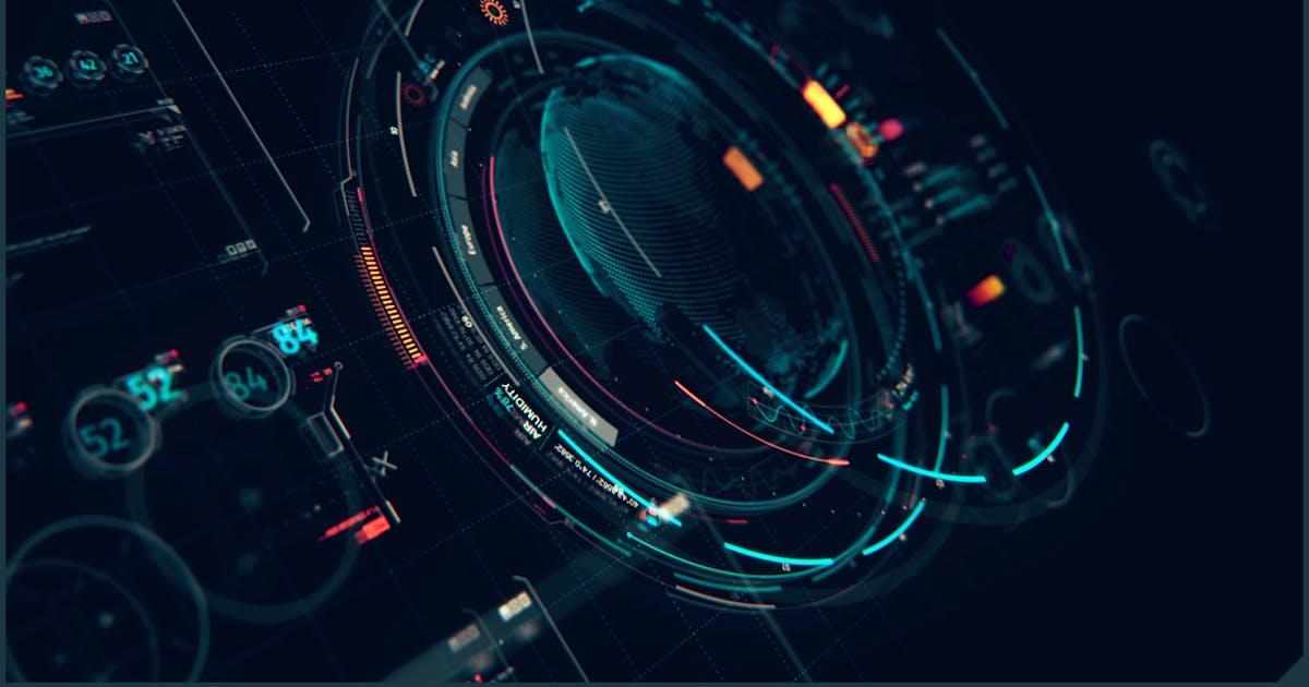 Download HUD Futuristic Interface XT1: Sci Fi UI Elements by TIT0