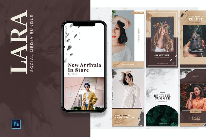 Thumbnail for Modern Social Media Templates
