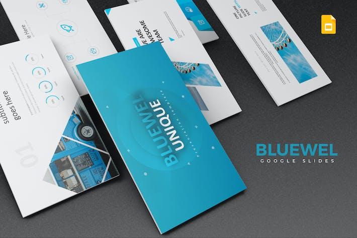 Cover Image For Bluewel - Google Slides Template