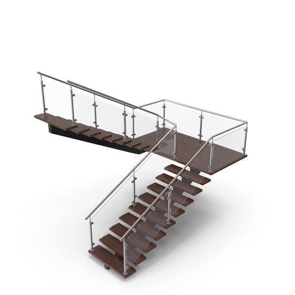 Modern U Stair