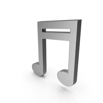 Symbol Music Note Steel
