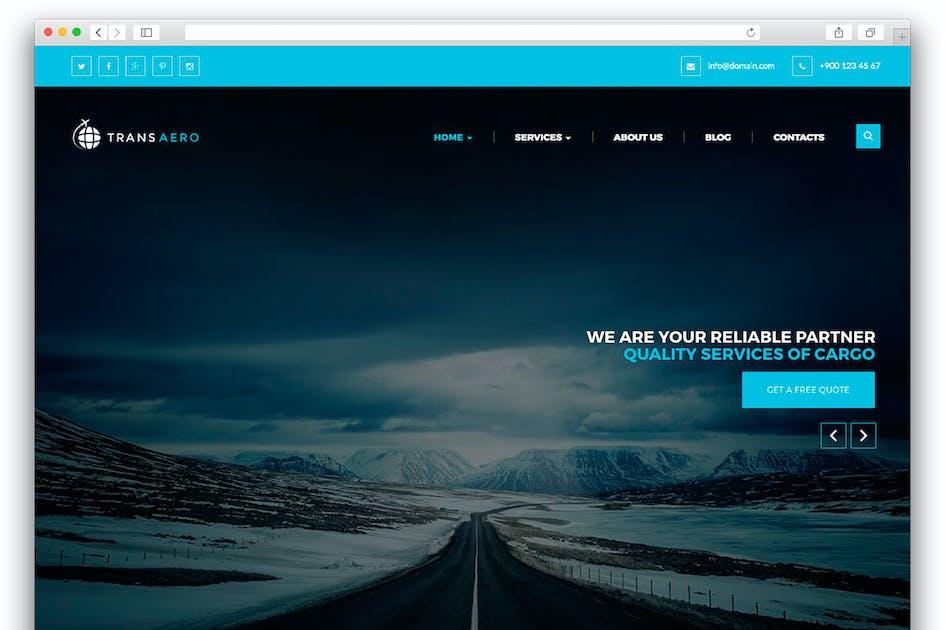 Download TransAero - WordPress Theme by Templines