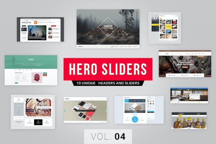 Thumbnail for Hero Sliders Vol. 4