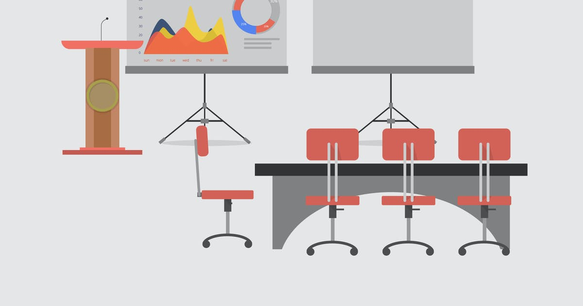 Download Conference - Illustration Background by Graphiqa