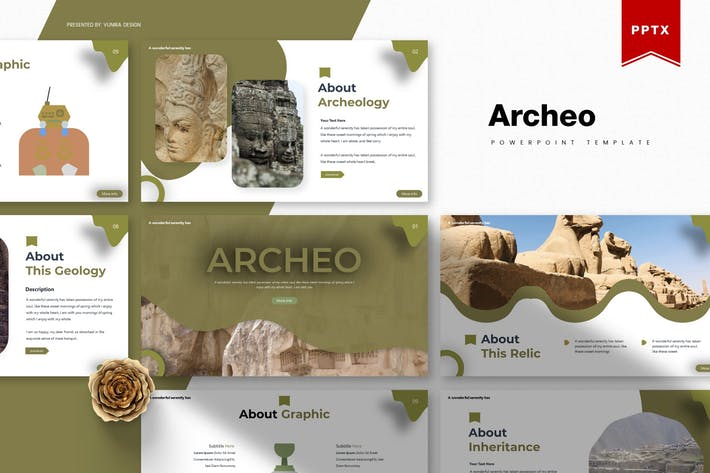 Thumbnail for Archeo | Powerpoint Template