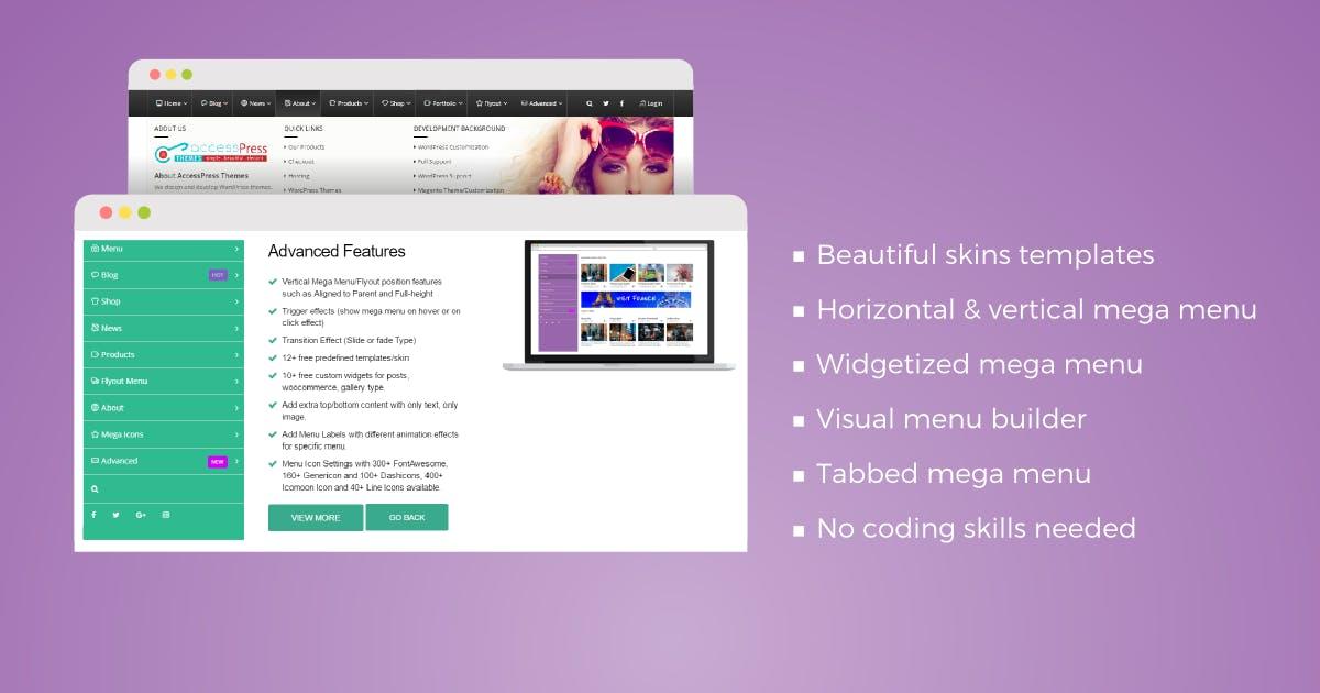 Download WP Mega Menu Pro by Unknow