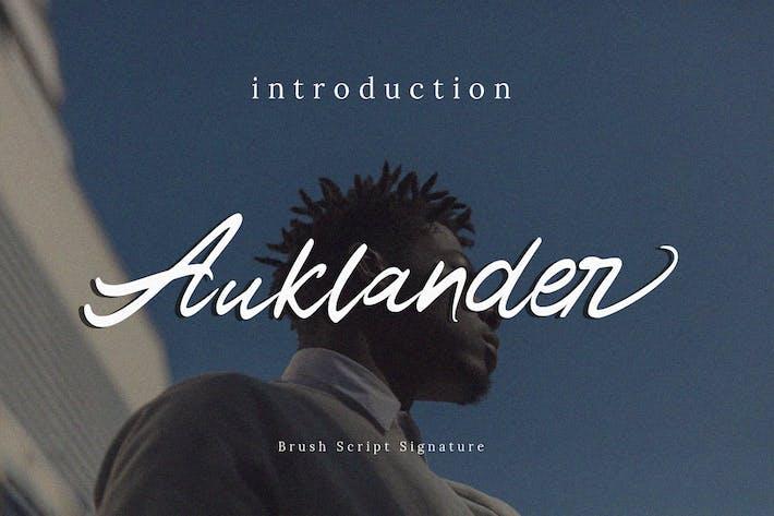Thumbnail for Auklander Font