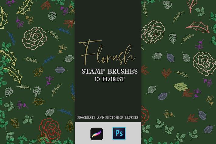 Thumbnail for Florush Stam Brushes