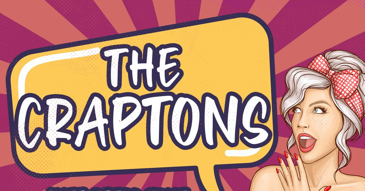 Download Craptons - Cute Retro Font by Blankids