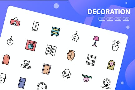 Decoration Icon Pack