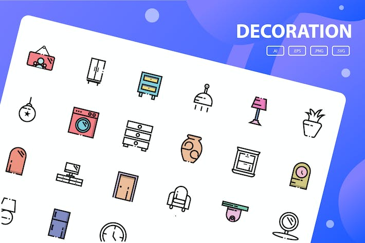 Thumbnail for Decoration Icon Pack