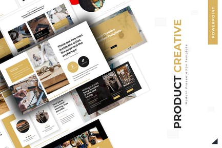 Творческий продукт - Powerpoint Шаблон