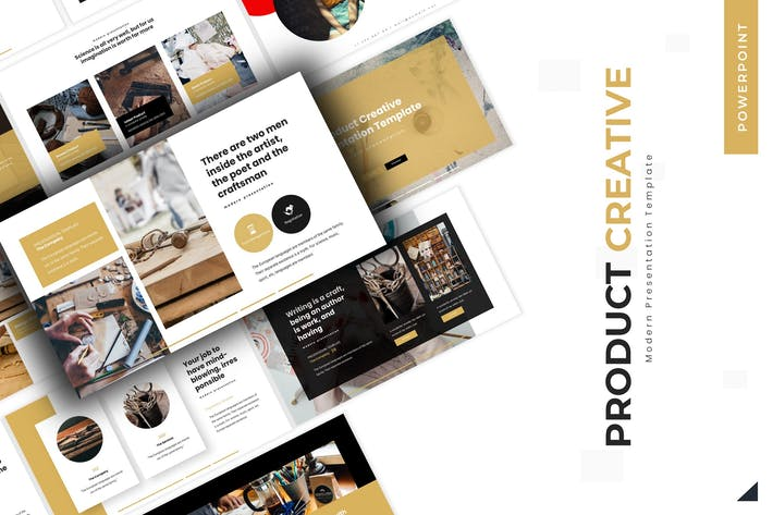 Thumbnail for Product Creative - Powerpoint Template