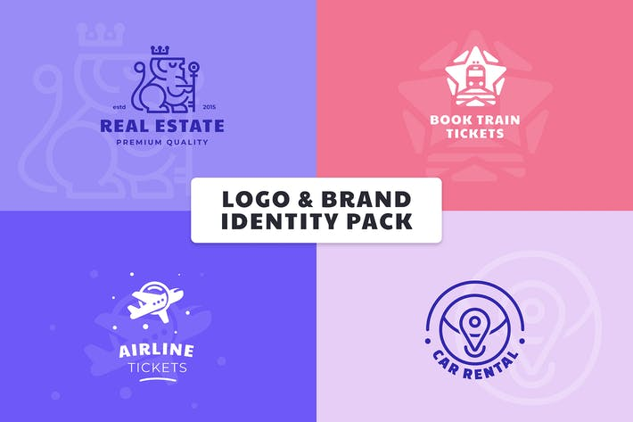 Thumbnail for Logo & Brand Identity Pack