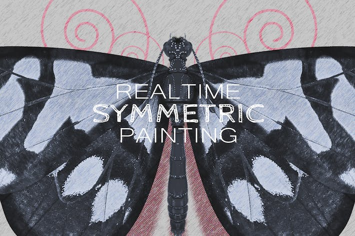 Thumbnail for Realtime Symmetry Painting