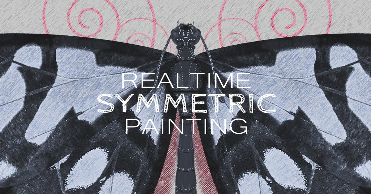 Download Realtime Symmetry Painting by Abdelrahman_El-masry