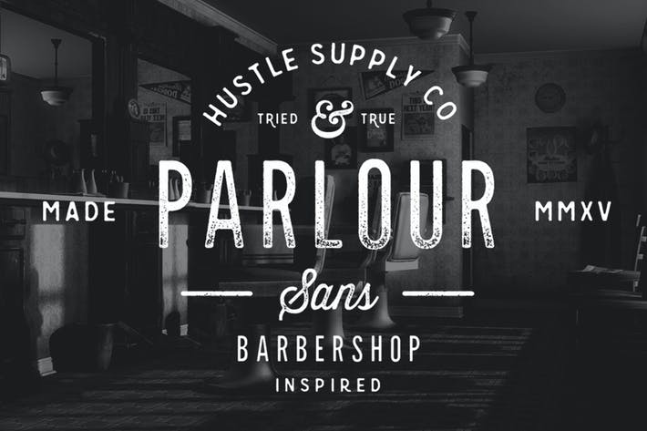 Cover Image For Parlour Sans