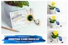 Greeting Card  / Invitation Mockup