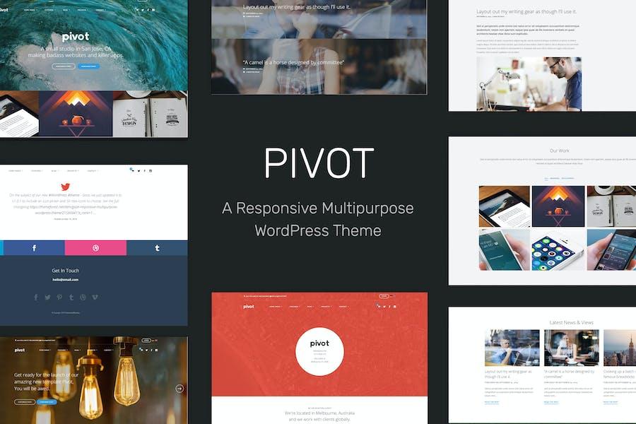 Pivot | Responsive Multipurpose WordPress Theme