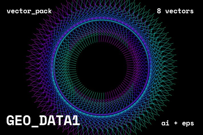 Thumbnail for GEO/DATA1 Vector Pack
