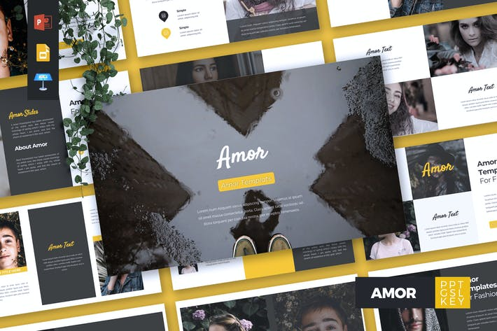 Thumbnail for AMOR - Fashion Powerpoint/Google Slide/Keynote
