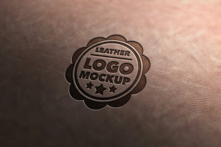 Thumbnail for Leather Stamp Mockup Vol.3