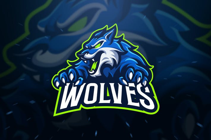 Thumbnail for Wolves Sport and Esport Logo Template