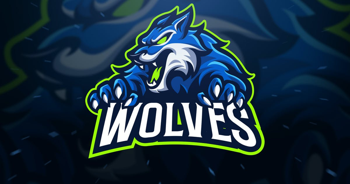 Download Wolves Sport and Esport Logo Template by Blankids
