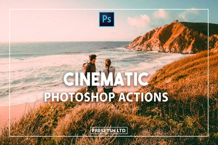 Cine Photoshop Actions