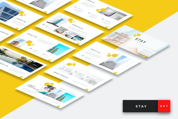 Thumbnail for Stay - Hotel Powerpoint Presentation Template