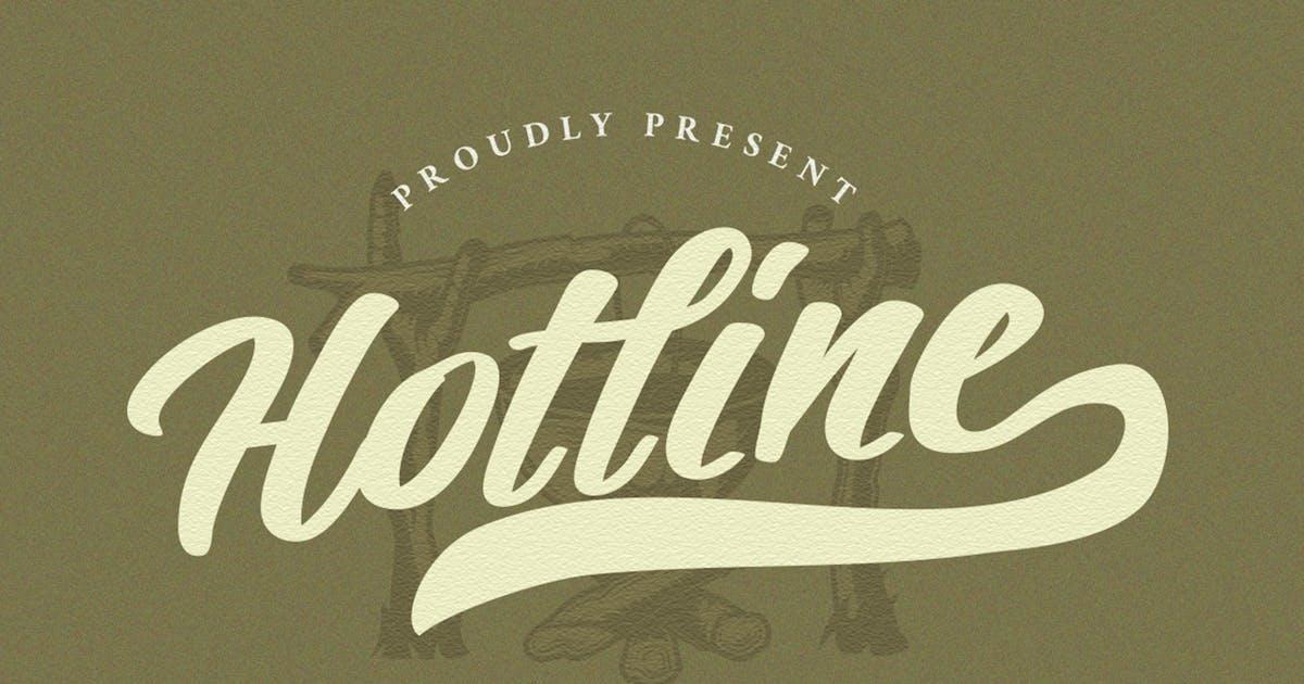 Download Hotline Modern Vintage Font by vultype