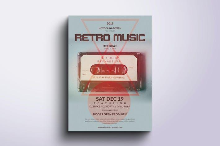 Thumbnail for Retro Music Poster & Flyer