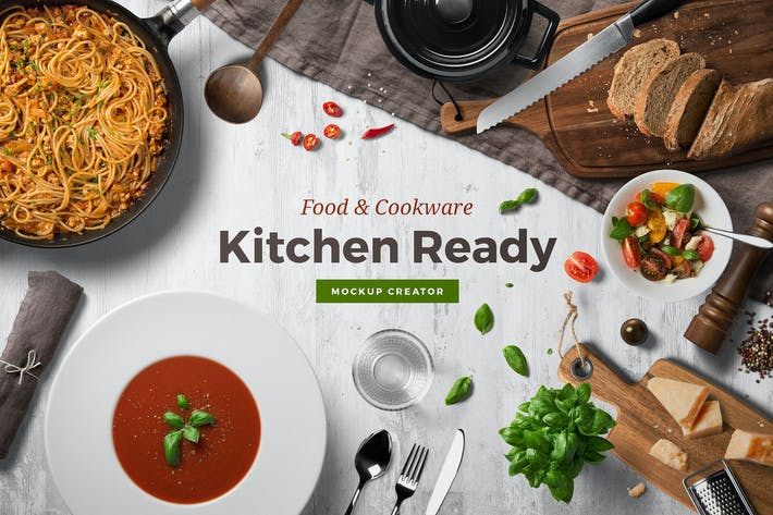Thumbnail for Kitchen Ready Mockup Vol. 3